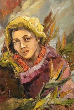 Aviva Maree, Wilmien se Winterblomme Impressionist Paintings, Impressionism, Kahlo Paintings, Art Paintings, South African Artists, Art Images, Art Pieces, Arts And Crafts, Portrait