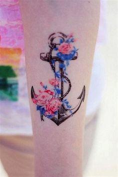 Significado Completo da Tatuagem de Âncora   +30 Exemplos