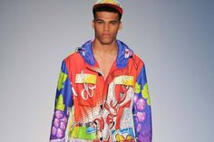 Dope as hell Moschino summer collection. #Moschino #mensfashion #highfashion #runway #summerstyle