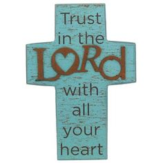 Trust in the Lord Cross (HobbyLobby)