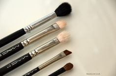 My Favourite Brushes: Eyes featuring Sigma, M.A.C.  and Bobbi Brown
