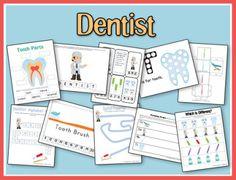 Free Printable Dentist Preschool Pack