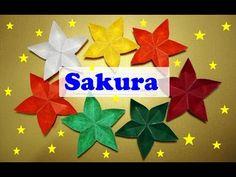 FLOR DE ORIGAMI SAKURA - YouTube