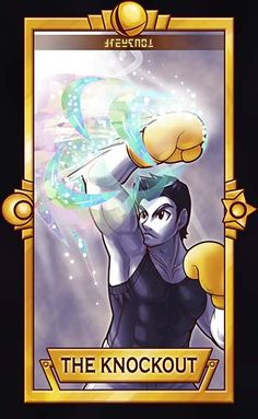 Pow! ============================= For more Super Smash Tarot Cards,pleasethis deck for updates! =============================