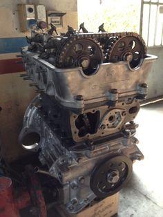 engine completely rebuilt to original specs.