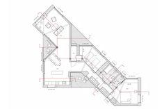 Architecture Drawing Plan, Architecture Design, Duplex Plans, Country Modern Home, Urban Design Plan, Modern Prefab Homes, Building Layout, Home Design Floor Plans, Built Environment