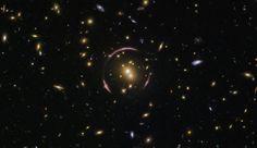 Hubble Finds an Einstein Ring