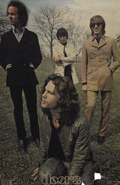 Robby Krieger, John Densmore, Ray Manzarek, and Jim Morrison