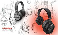 G-shock Audio by Jillian Tackaberry at Coroflot.com