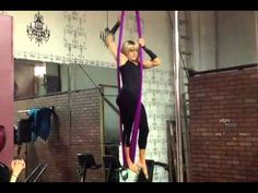▶ NANETTES FIRST AERIAL HAMMOCK PERFORANCE - YouTube