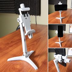 New printed phone stand. Useful 3d Prints, Mobile Stand, 3d Printed Objects, Phone Stand, Diy Electronics, Altered Art, 3d Printer, Cnc, Engine
