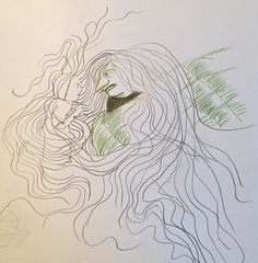 Development work for 'Mère Méduse / Mother Medusa' by Kitty Crowther Kitty Crowther, Mythological Characters, Funny Feeling, English Book, Tentacle, Prehistoric, Mythology, Illustration Art, Drawings