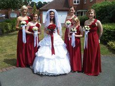 claret wedding   Claret Rose