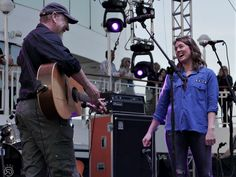 Richard Thompson and Brandi Carlile