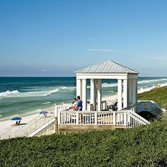 Seaside Fl- we used to vacation here when I was little, so many fun summer memories from this place!!!