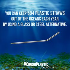 Every day we produce 500 million straws and guess where all of this plastic ends up? If you guessed the garbage you would only be partially correct.