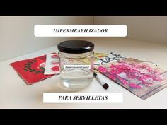 """(92) DIY: """" IMPERMEABILIZADOR """" para las servilletas de Decoupage - YouTube Diy Resin Mold, Resin Molds, Rustic Crafts, Dyi Crafts, Decoupage Art, Pasta Flexible, Polymer Clay Projects, How To Make Diy, Painting On Wood"""
