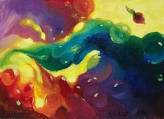 original painting hummingbird bird seed sprouting wildlife art listed by artist #Realism