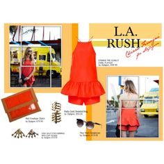 L.A. Rush - Chiara Ferragni for Styligion by styligion on Polyvore featuring Mode