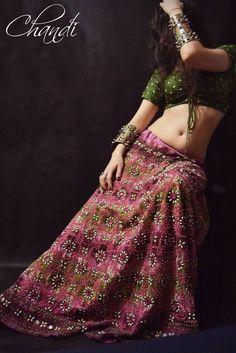 india Skirt boho freepeople style gypsy tribal fusion bellydance ats banjara  #india #