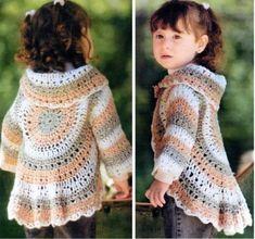 Circular Granny Shrug Free Crochet Pattern