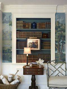 Gorgeous vignette in a sitting room by Larry Hooke Interiors out in Seattle.