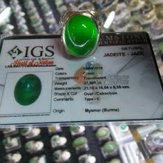 Natural HQ Burmese Jadeite - Jade from Burma Myanmar Type C 27.961 cts - FREE SHIPPING