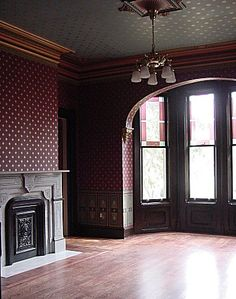Victorian Parlor  Fascinating story of how it was restored!  Amazingly beautiful!