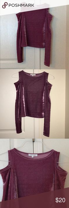 Velvet Top New never worn. Urban Outfitters Tops