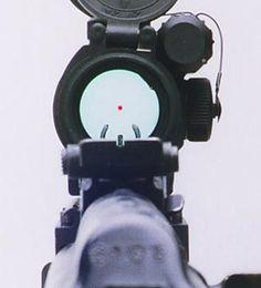 Red Dot on Ultimak Rail #reddot #ultimakrail
