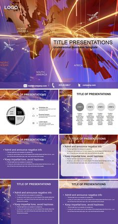 The united states of america powerpoint template powerpoint 3d map of flights powerpoint templates toneelgroepblik Image collections