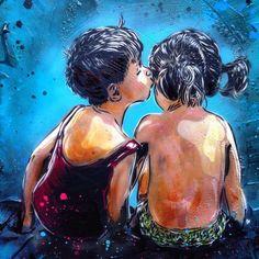 "Artist : C215..""What is Love"""