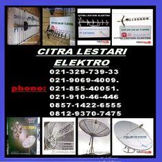 jasa pasang antena tv dan parabola: ahli pasang antena tv