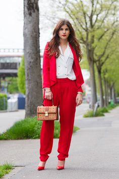 Gorgeous red suit