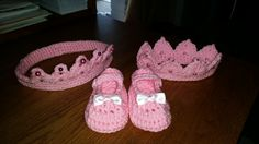 Princess crowns and slippers