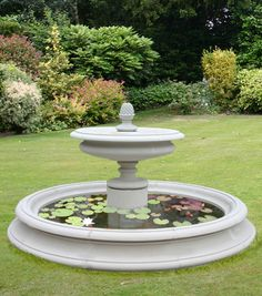 English garden fountain Garden Love Pinterest Garden