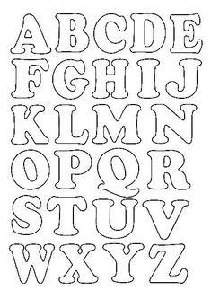Alphabet Letter Templates, Printable Letter Templates, Alphabet A, Hand Lettering Alphabet, Alphabet Stamps, Alphabet Stencils, Graffiti Alphabet, Calligraphy Alphabet, Islamic Calligraphy