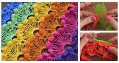Crochet African Flower Blankets – Free Pattern And Video Tutorial Crochet Butterfly Free Pattern, Crochet Flower Patterns, Crochet Blanket Patterns, Crochet African Flowers, Crochet Puff Flower, Crochet Flowers, Crochet Doll Dress, Crochet Barbie Clothes, Crochet Blouse
