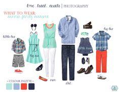 what-to-wear-summer: Navy, Cornflower Blue, Coral, Mint