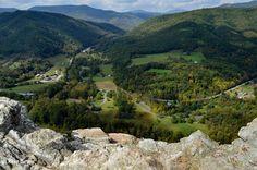 Rick BurgessSpotlight West Virginia-atop Seneca Rocks