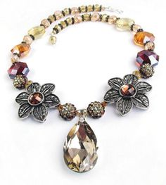 Festive Sunflower #Necklace #MichaelsStores
