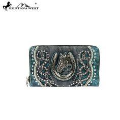 Montana West Horse Collection Wallet (MW218-W003) – Handbag-Addict.com