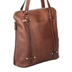 This handmade leather tote bag is designed for everyday use. Leather Bags Handmade, Leather Briefcase, Fashion Bags, Fashion Inspiration, Tote Bag, Zip, Leather Folder, Fashion Handbags, Tote Bags