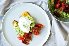 Ei-Süßkartoffel-Avocado-Toast - schnelles Futter für die Nerven