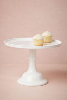 Simple, elegant cake stand. I need one just like this.