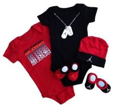 Shop for Boy Jordan Baby Clothes & Accessories products from baby hats and blankets to baby bodysuits and t-shirts. We have the perfect gift for every newborn.