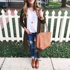 Casual Winter Outfits Ideas With Long Cardigans 41