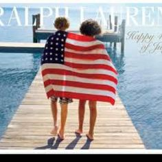 Fourth of July Ralph Lauren Ad. An old love.