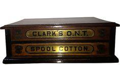 Antique Spool Box $400.00