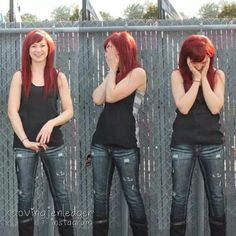 Jen Ledger - I love her so much! She's my rock music career inspiration XD